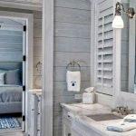 66 Cool Modern Farmhouse Bathroom Tile Ideas (17)