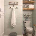 66 Cool Modern Farmhouse Bathroom Tile Ideas (20)