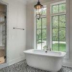 66 Cool Modern Farmhouse Bathroom Tile Ideas (22)