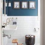 66 Cool Modern Farmhouse Bathroom Tile Ideas (34)