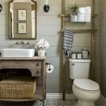 66 Cool Modern Farmhouse Bathroom Tile Ideas (38)