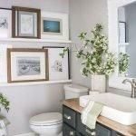 66 Cool Modern Farmhouse Bathroom Tile Ideas (39)