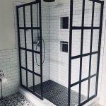 66 Cool Modern Farmhouse Bathroom Tile Ideas (43)
