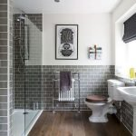66 Cool Modern Farmhouse Bathroom Tile Ideas (48)