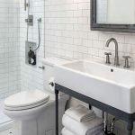 66 Cool Modern Farmhouse Bathroom Tile Ideas (50)