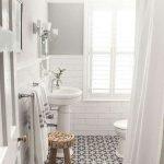 66 Cool Modern Farmhouse Bathroom Tile Ideas (54)