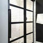 66 Cool Modern Farmhouse Bathroom Tile Ideas (62)