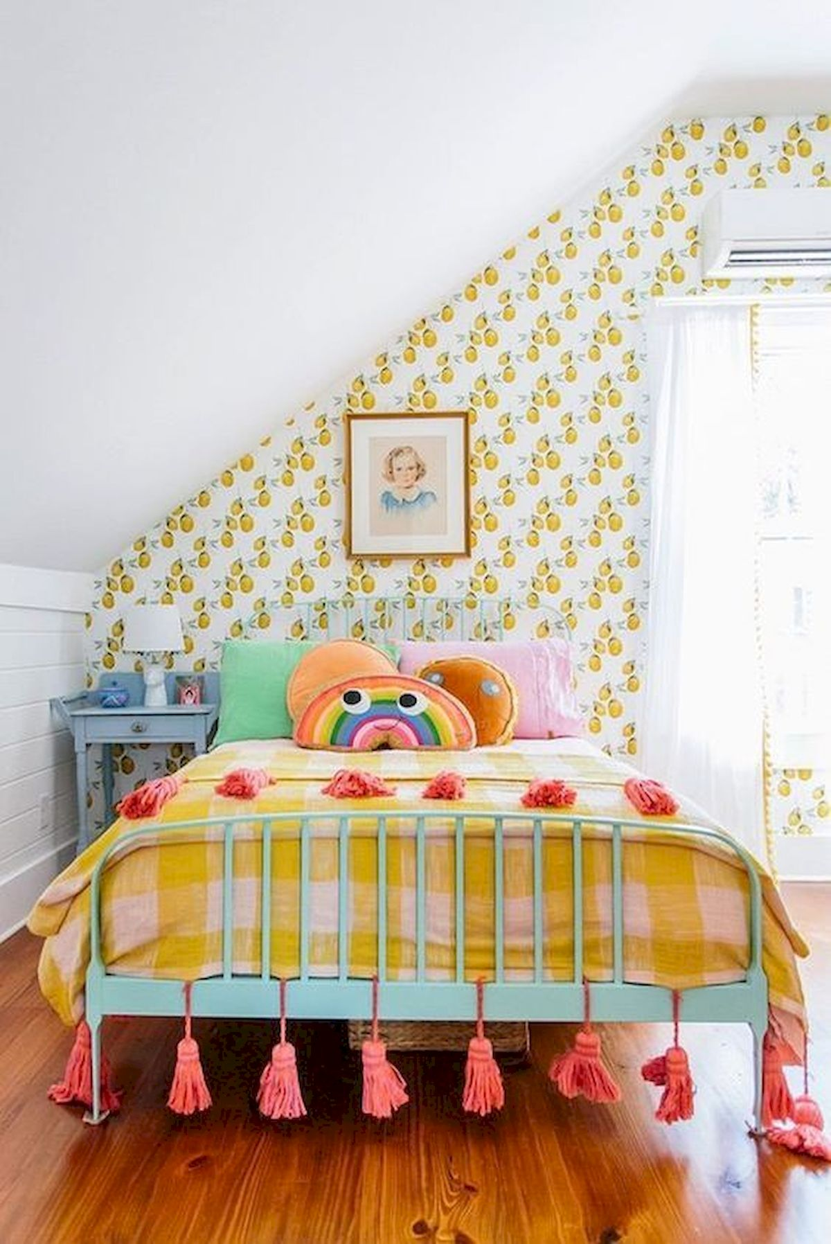 70 Awesome Colorful Bedroom Design Ideas and Remodel (10)