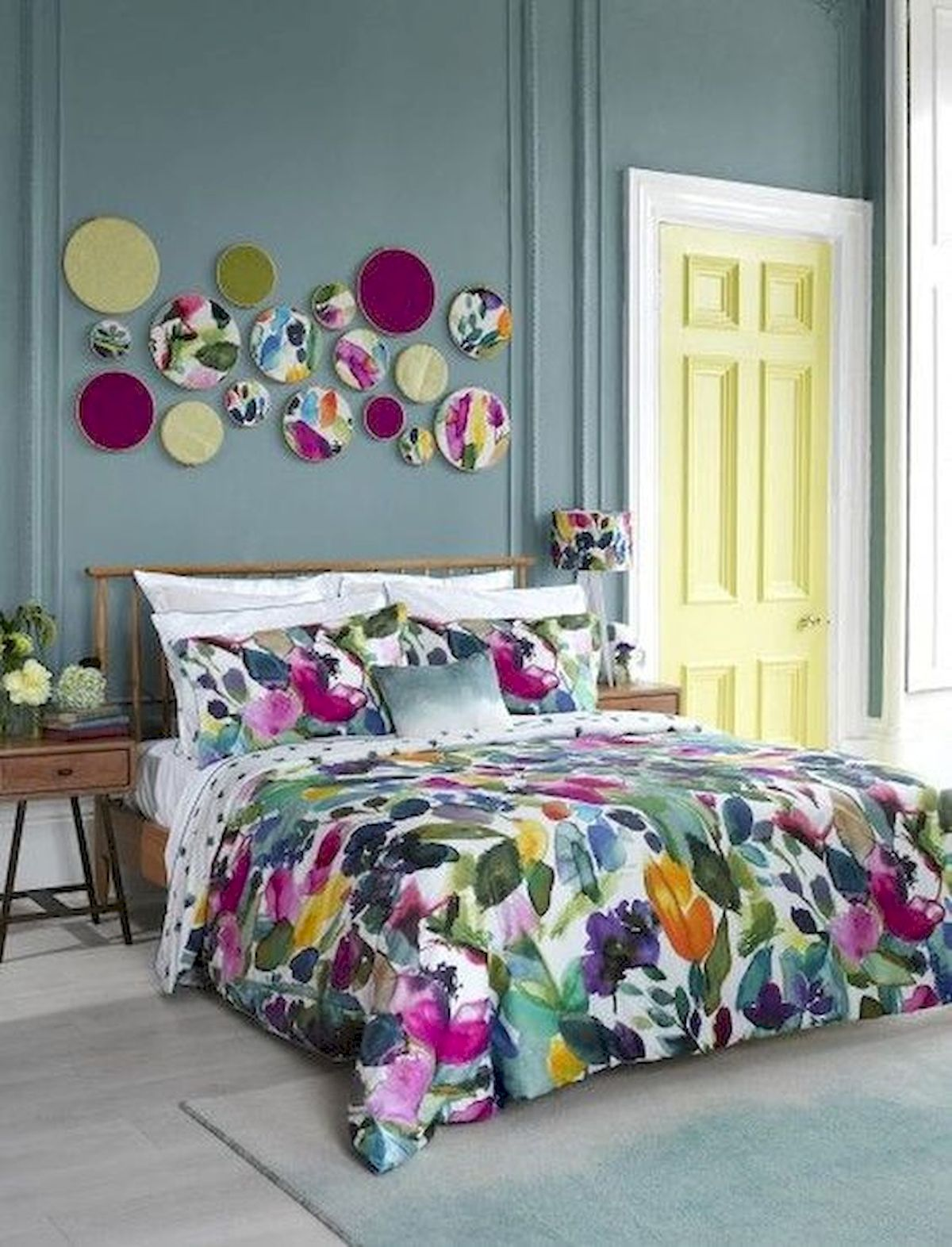 70 Awesome Colorful Bedroom Design Ideas and Remodel (20)