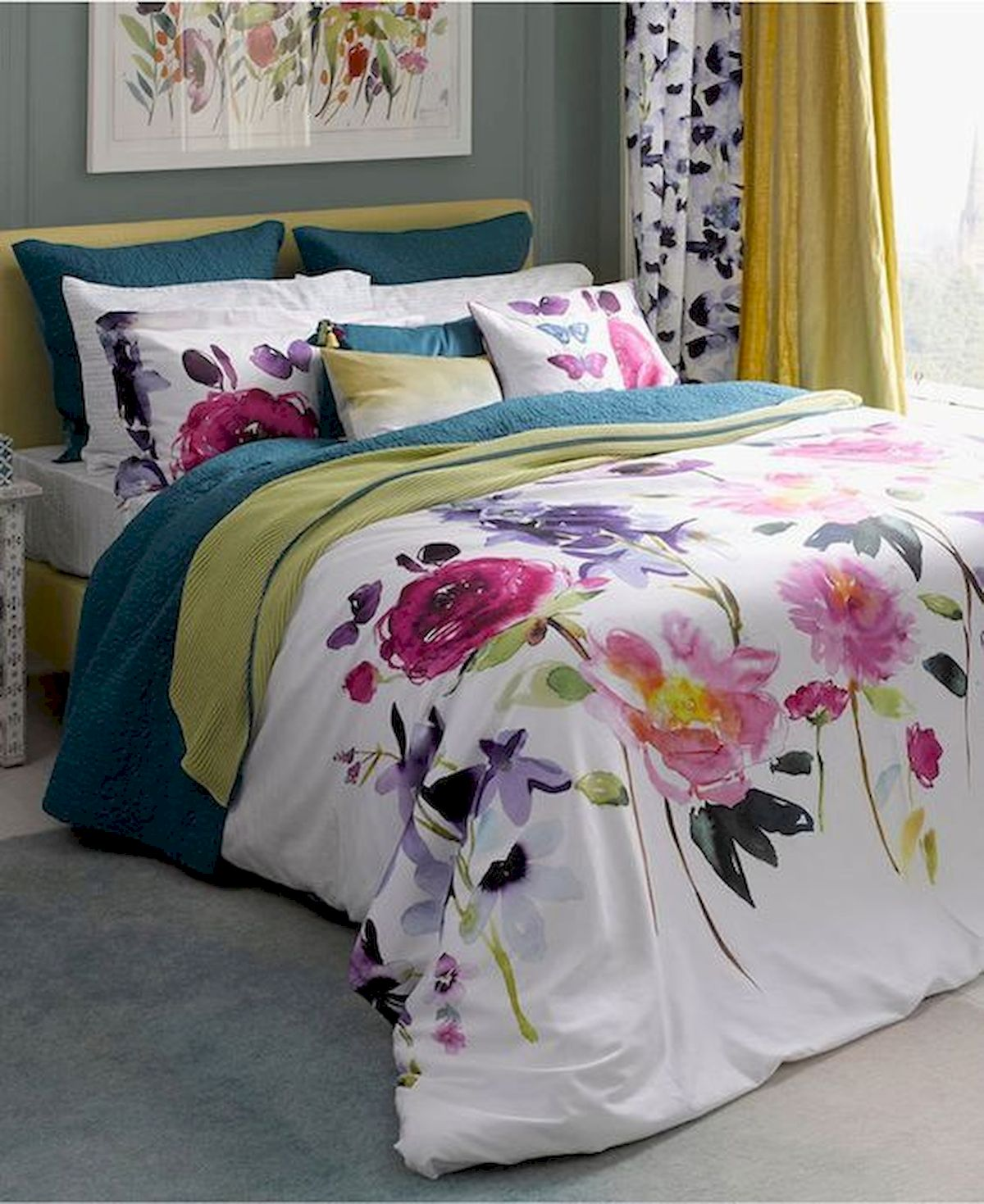 70 Awesome Colorful Bedroom Design Ideas and Remodel (22)