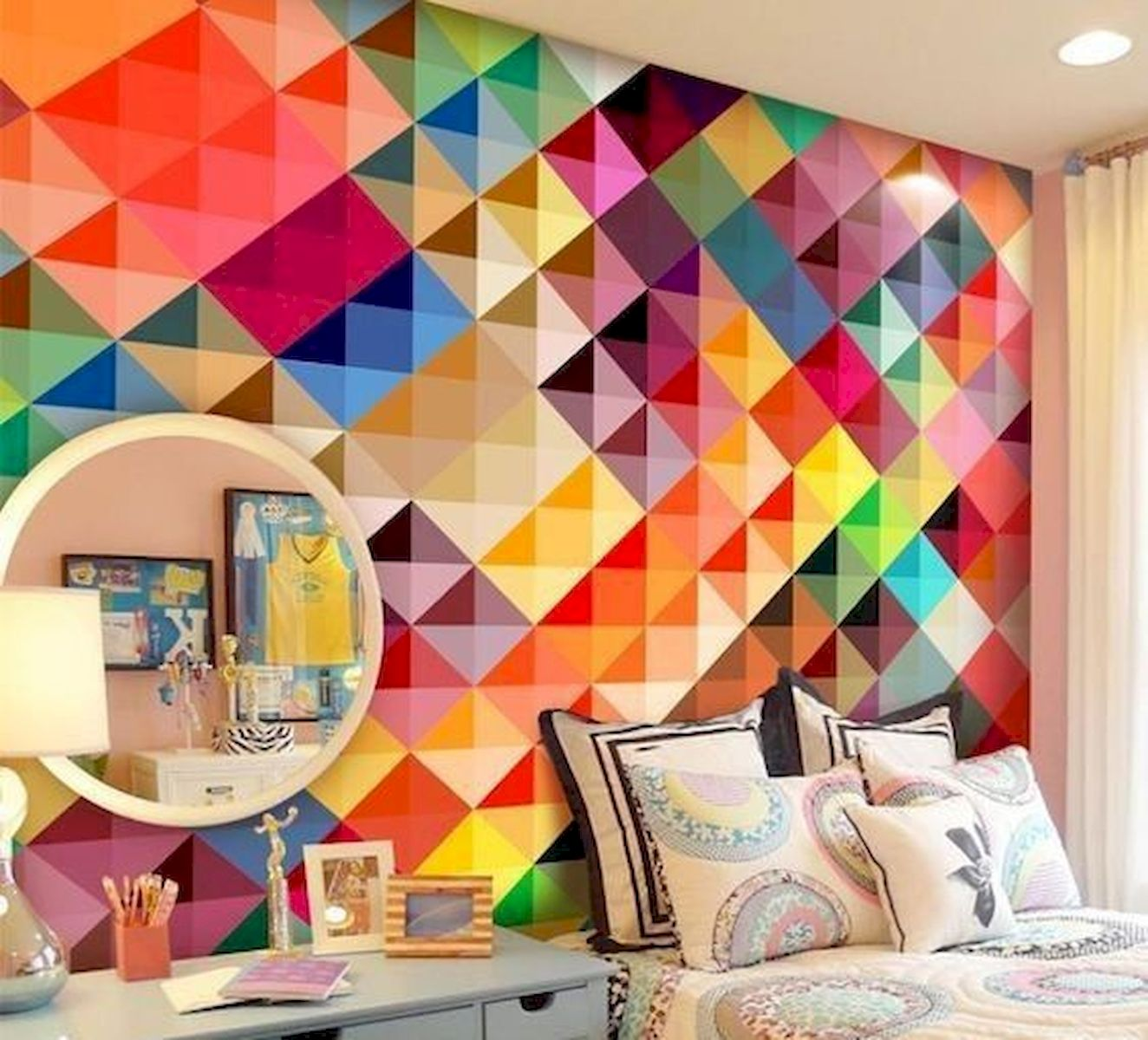 70 Awesome Colorful Bedroom Design Ideas and Remodel (27)