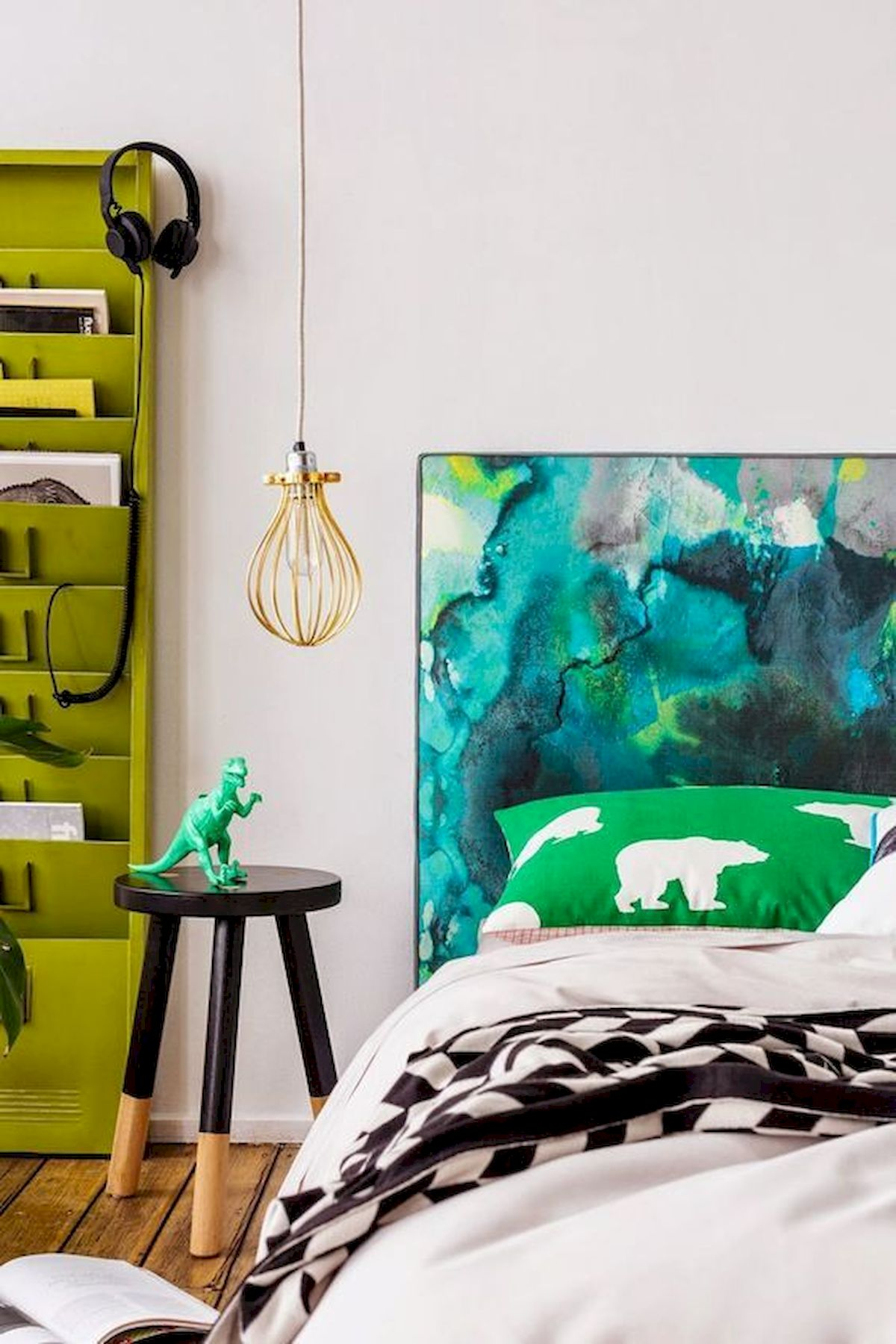 70 Awesome Colorful Bedroom Design Ideas and Remodel (38)