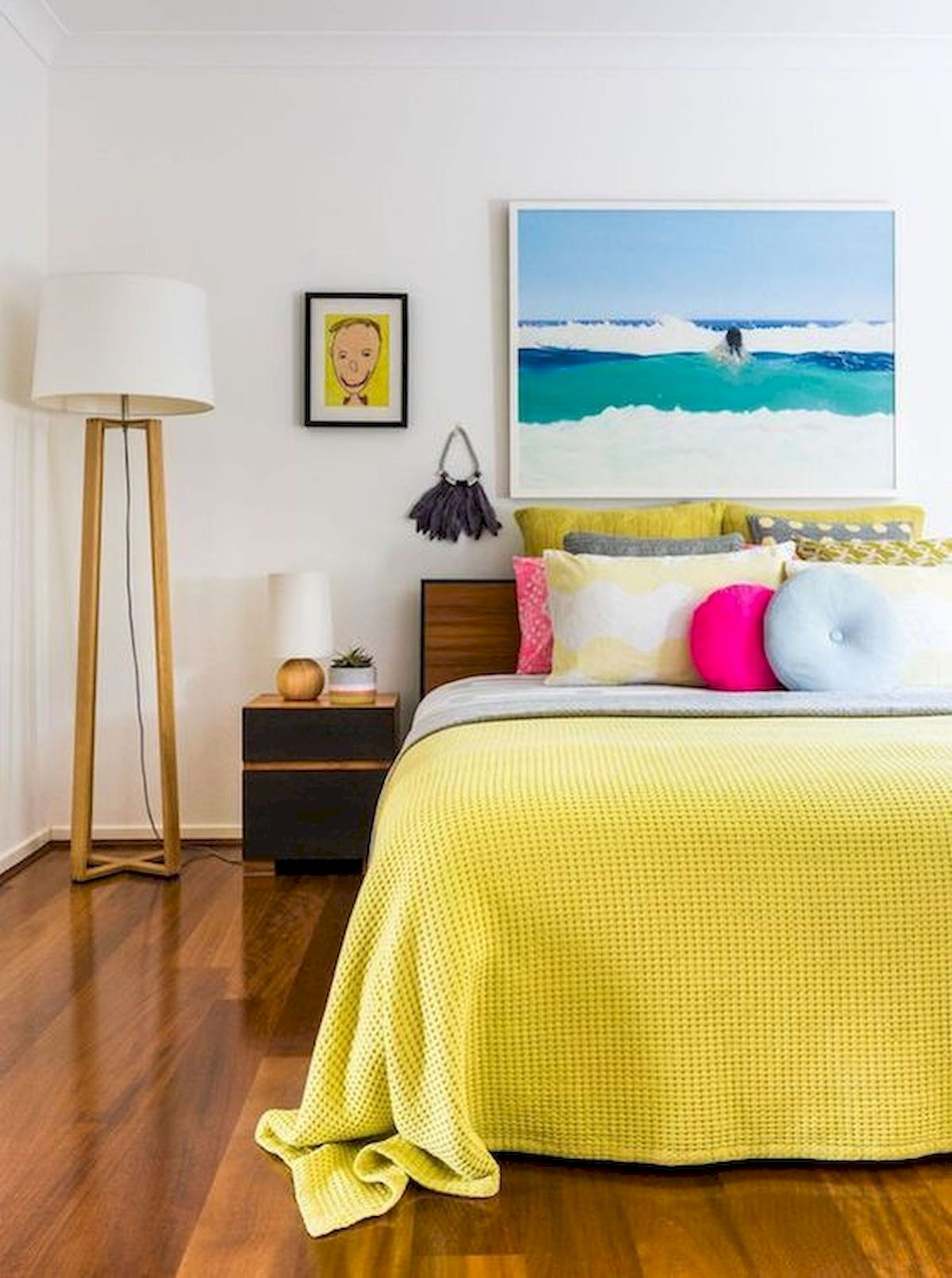 70 Awesome Colorful Bedroom Design Ideas and Remodel (4)