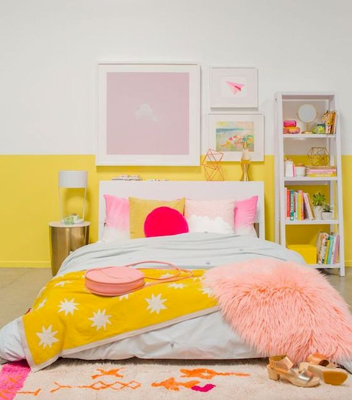 70 Awesome Colorful Bedroom Design Ideas and Remodel (44)