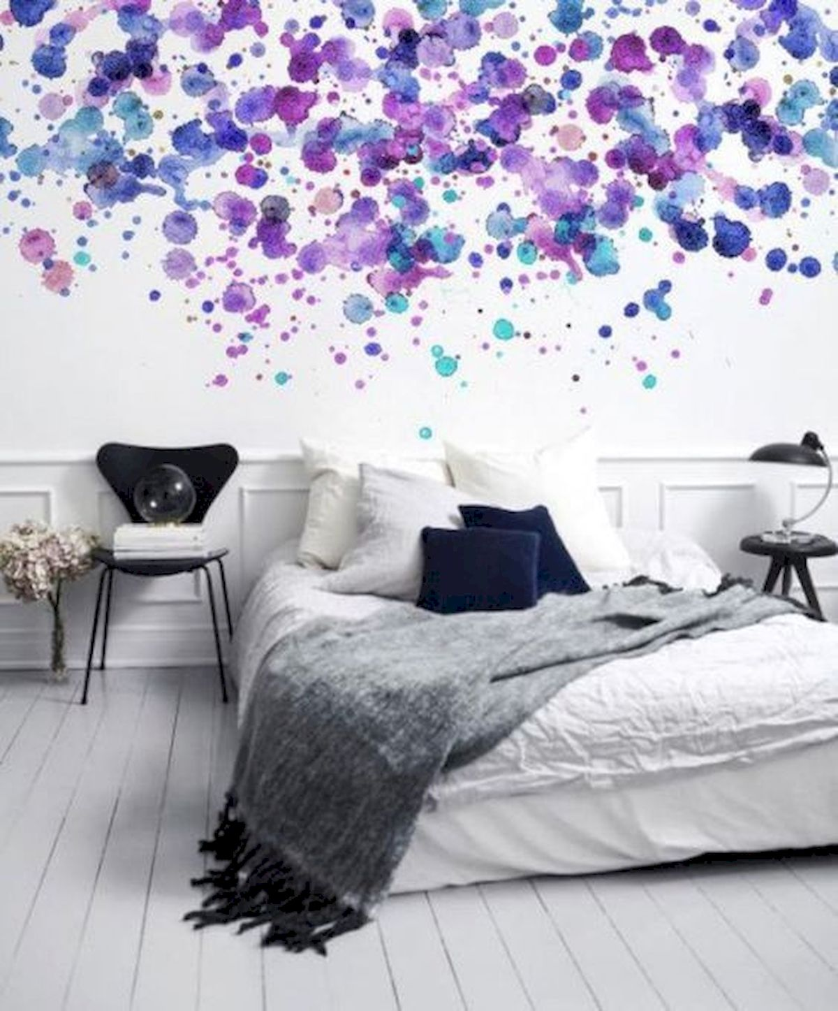 70 Awesome Colorful Bedroom Design Ideas and Remodel (6)