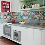 90 Amazing Kitchen Remodel and Decor Ideas With Colorful Design (62)