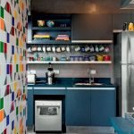 90 Amazing Kitchen Remodel and Decor Ideas With Colorful Design (71)
