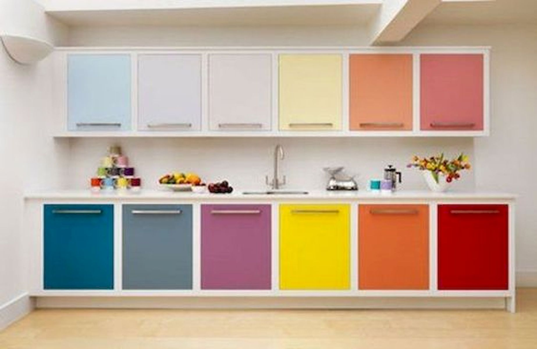 90 Amazing Kitchen Remodel And Decor Ideas With Colorful Design (85)