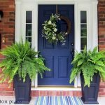 90 Awesome Front Door Colors and Design Ideas (10)