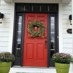 90 Awesome Front Door Colors and Design Ideas (13)