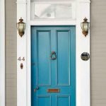 90 Awesome Front Door Colors and Design Ideas (15)