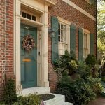 90 Awesome Front Door Colors and Design Ideas (18)