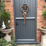 90 Awesome Front Door Colors and Design Ideas (19)