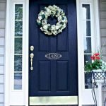 90 Awesome Front Door Colors and Design Ideas (21)