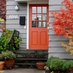 90 Awesome Front Door Colors and Design Ideas (23)