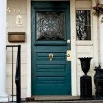 90 Awesome Front Door Colors and Design Ideas (24)