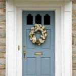 90 Awesome Front Door Colors and Design Ideas (29)