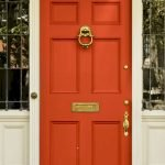 90 Awesome Front Door Colors and Design Ideas (34)