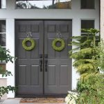 90 Awesome Front Door Colors and Design Ideas (38)