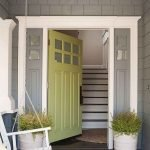 90 Awesome Front Door Colors and Design Ideas (45)
