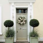 90 Awesome Front Door Colors and Design Ideas (49)