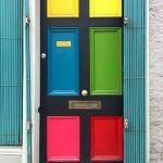 90 Awesome Front Door Colors and Design Ideas (51)