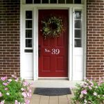 90 Awesome Front Door Colors and Design Ideas (52)