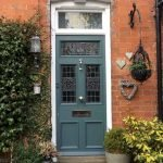 90 Awesome Front Door Colors and Design Ideas (53)