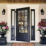 90 Awesome Front Door Colors and Design Ideas (58)