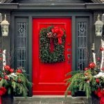 90 Awesome Front Door Colors and Design Ideas (61)