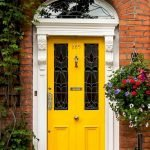 90 Awesome Front Door Colors and Design Ideas (62)