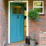 90 Awesome Front Door Colors and Design Ideas (63)