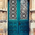 90 Awesome Front Door Colors and Design Ideas (66)