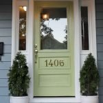 90 Awesome Front Door Colors and Design Ideas (67)
