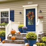 90 Awesome Front Door Colors and Design Ideas (69)