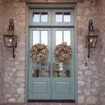 90 Awesome Front Door Colors and Design Ideas (7)