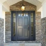 90 Awesome Front Door Colors and Design Ideas (73)