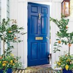 90 Awesome Front Door Colors and Design Ideas (74)