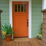 90 Awesome Front Door Colors and Design Ideas (77)