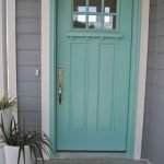 90 Awesome Front Door Colors and Design Ideas (79)